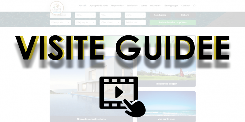 New site: guided tour